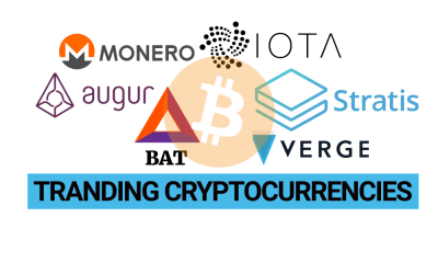 Trending cryptocurrencies