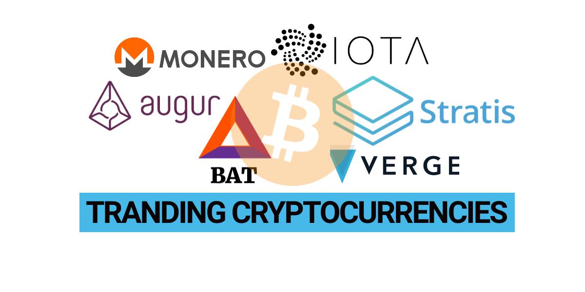 Trending cryptocurrencies