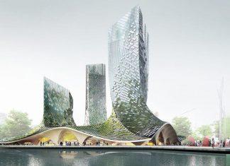 ChinaandFrancePartnerTogetheronaBlockchainSupported,Eco FriendlySkyscraper
