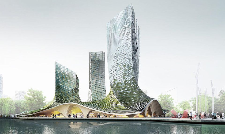 China and France Partner Together on a Blockchain Supported, Eco-Friendly Skyscraper