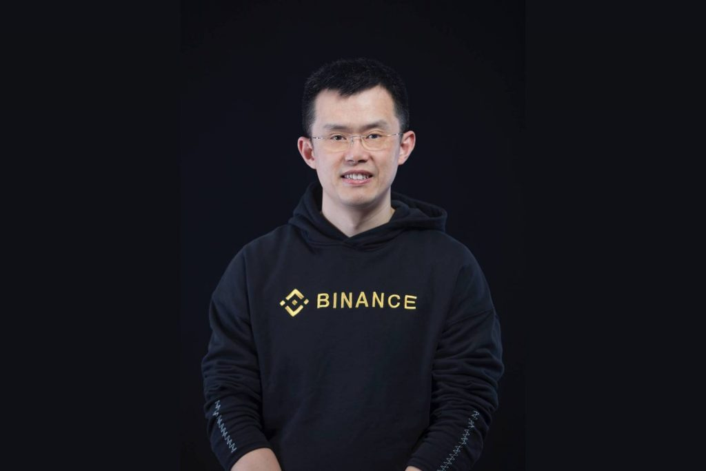 Binance CEO changpeng zhao