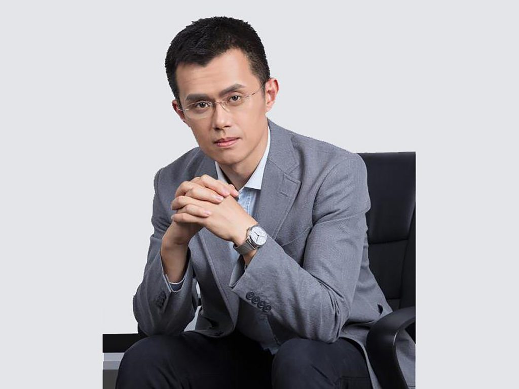 Changpeng Zhao - head of Binance