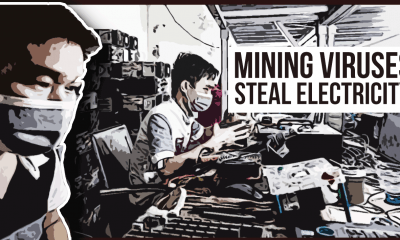 Crypto mining Viruses steal your power
