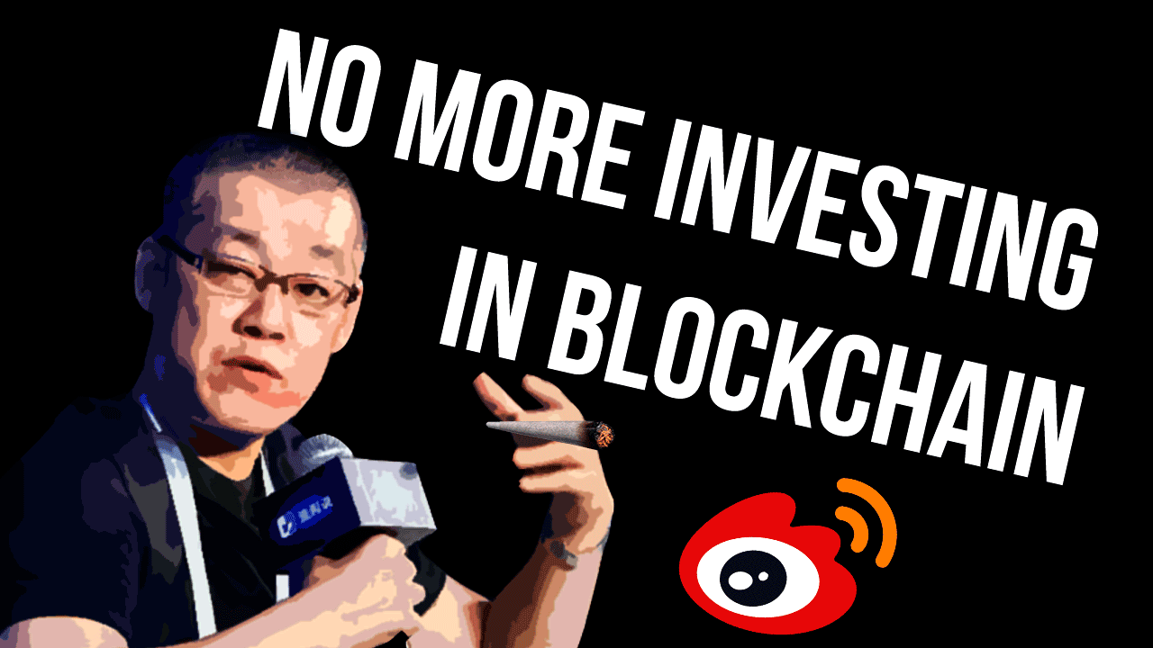 """Chinese Bitcoin Billionaire: """"I'm Done with Investing in Blockchain"""""""