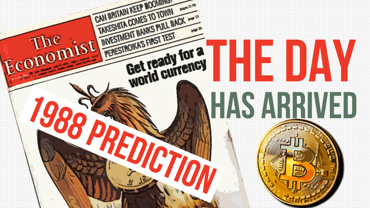 Was It Bitcoin? 1988 the Ecomist Predicted the World Coin