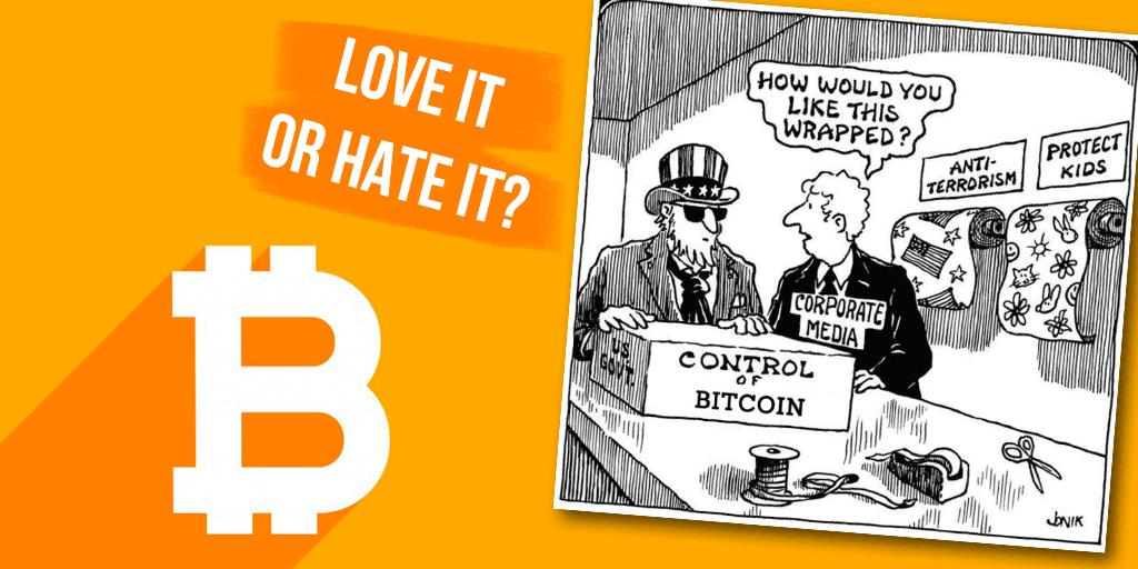 bitcoin love or hate