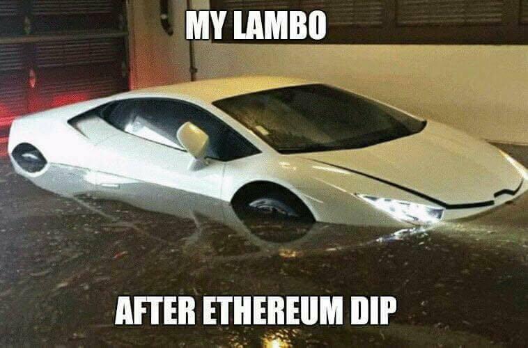 Lambo Crypto Meme