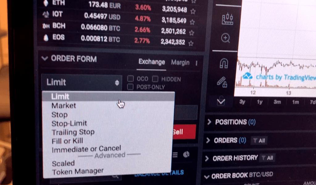 limit market otc trading