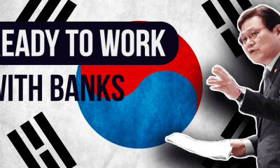 south korea working with banks on crypto