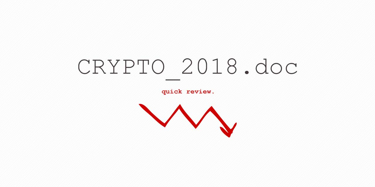 crypto-2018-review