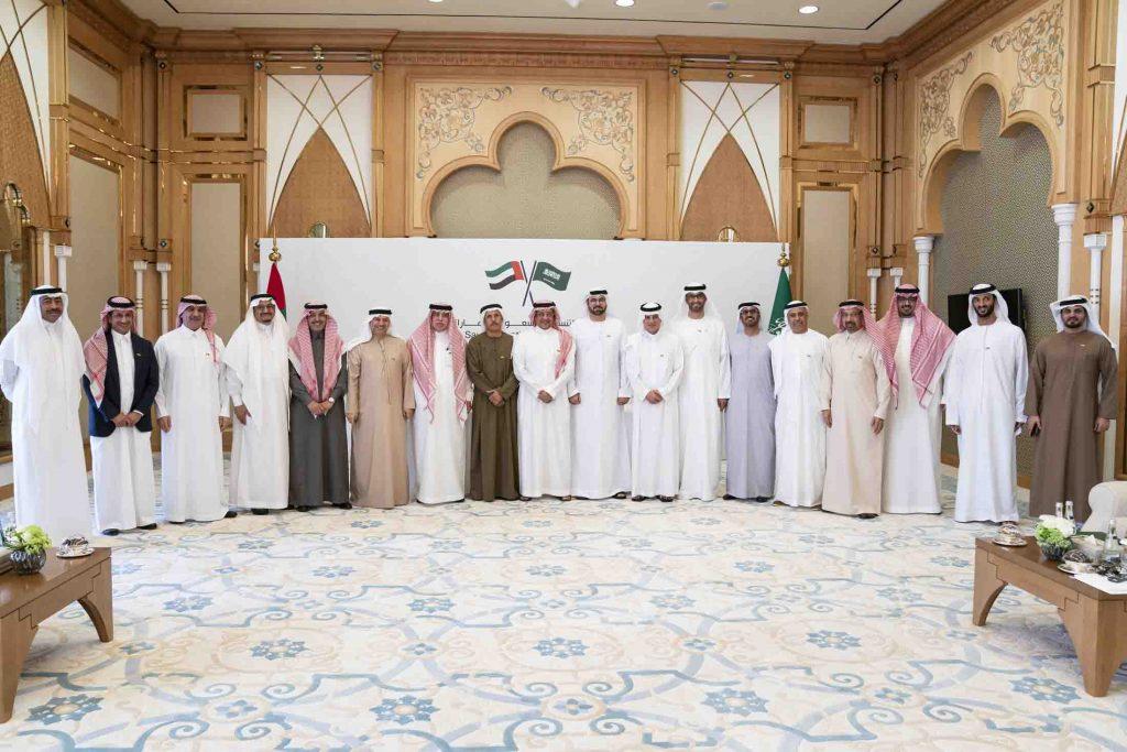 Saudi Arabia and UAE meeting