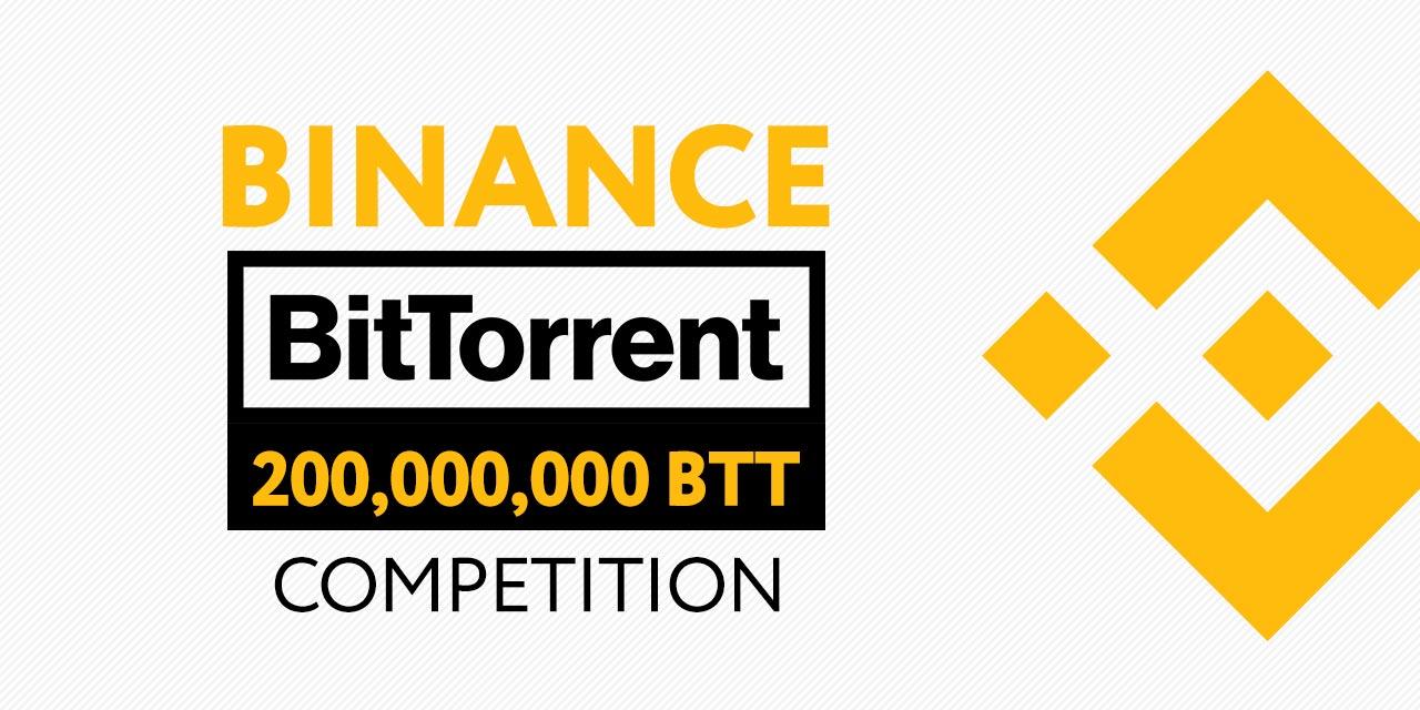binance btt trading competition