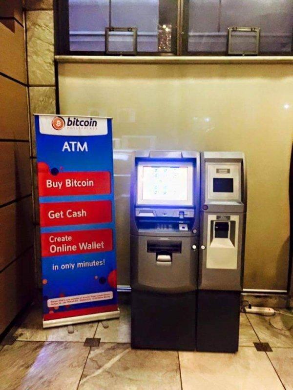 Bitcoin ATM, Makati Philippines