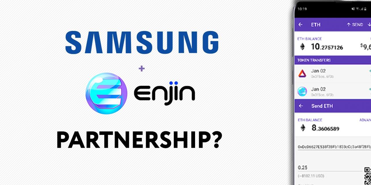 enjin wallet partners samsung blockchain phone