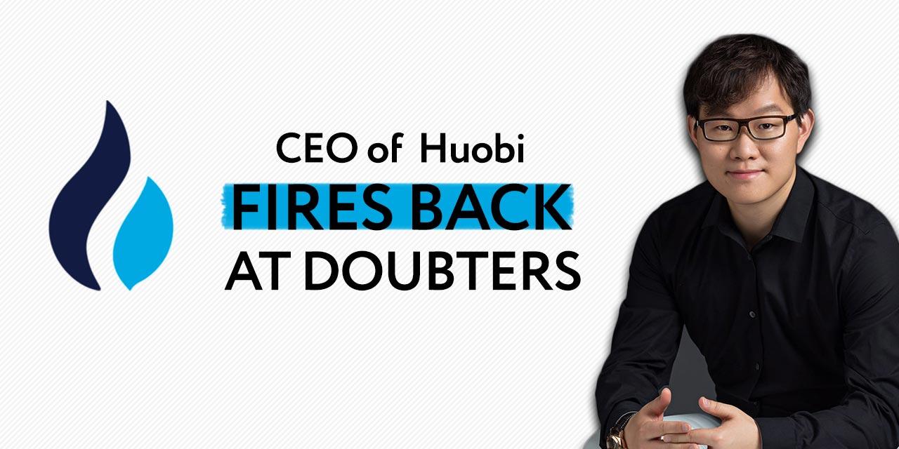 huobi ceo fires back