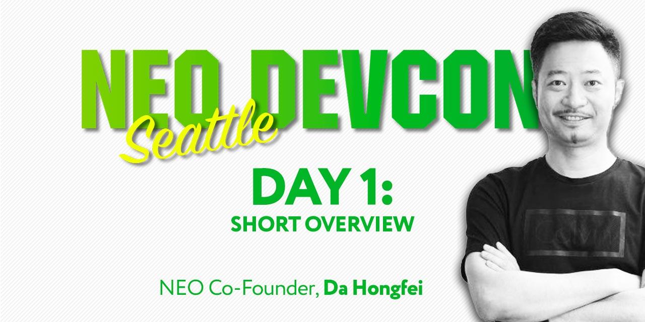 neo devcon opening seattle