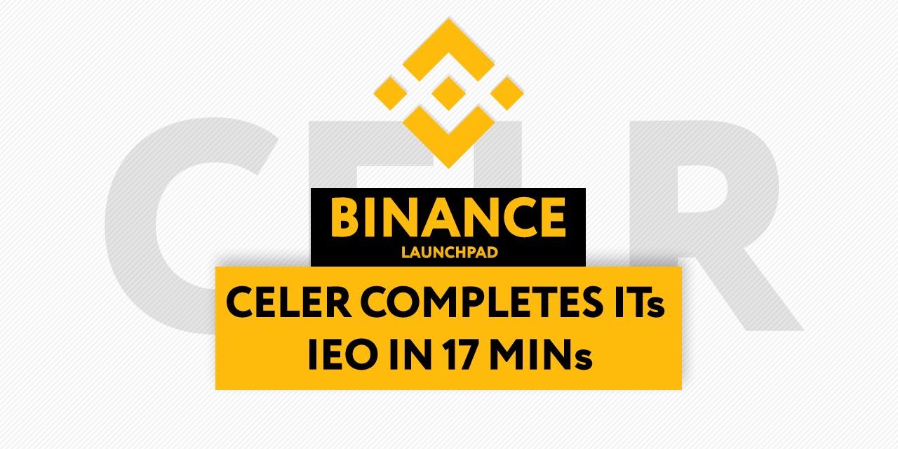 Binance Launchpad Celer