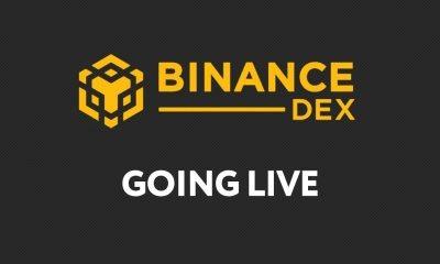 Binance DEX Launch