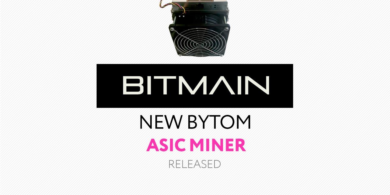Bitmain New Mining Machine