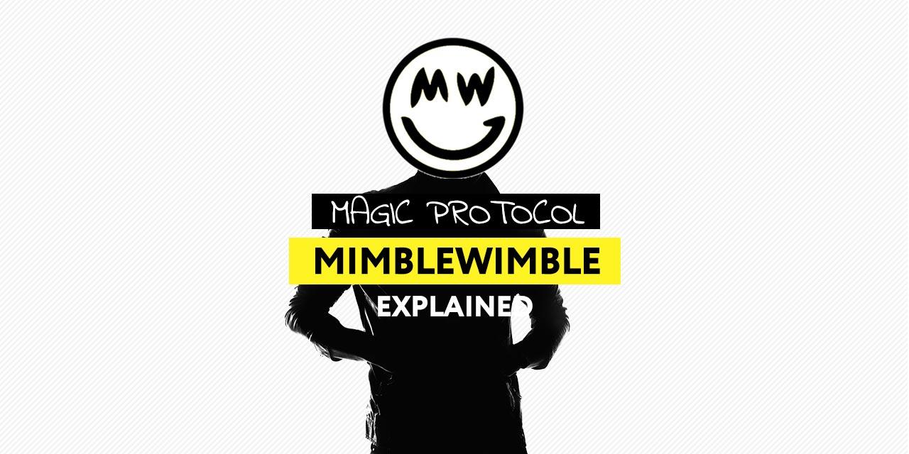 Mimblewimble Explained