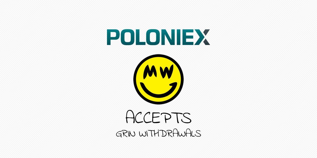 Poloniex Grin MimbleWimble