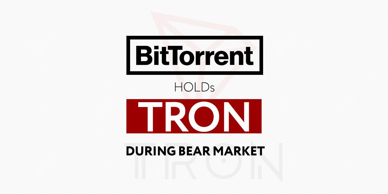 TRON BitTorrent Bear market