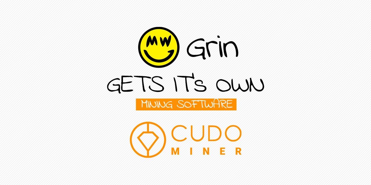 Grin Mining Cudo Miner