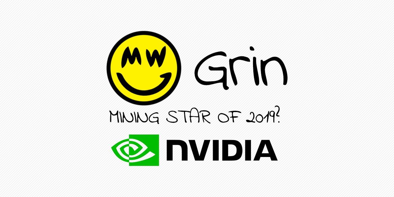Grin Mining NVIDIA