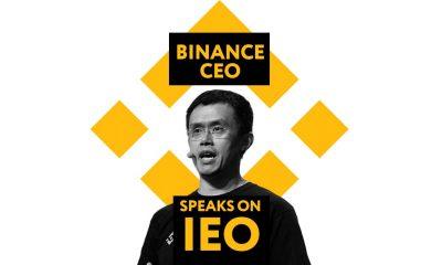 Binance CEO IEO