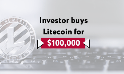 A mistake from an unknown crypto investor has seen the user buy Litecoin on the Paxos (PAX) trading pair, triggering the buy orders which are placed all the way up to $100,000 per Litecoin.
