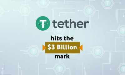It has been a good week for Tether Limited and its USDT coin. The company saw its stable coin reach a market cap valuation of 3 billion US dollars.