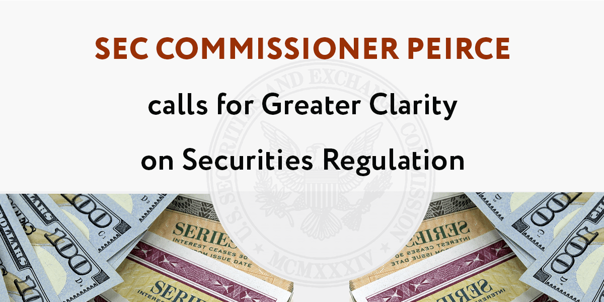 SEC Commissioner Hester Peirce, also known as the crypto mom, has once again leaped to the defense of the industry claiming that the SEC is 'stifling' the development of crypto and calls for change.