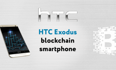 The HTC Exodus blockchain smartphone to support in-built crypto trading