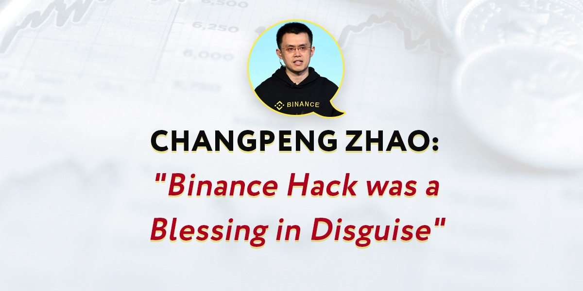 When Gautam Chhugani, wrote a tweet on the recent Binance hack he might not have known how much his words would inspire the Binance CEO.