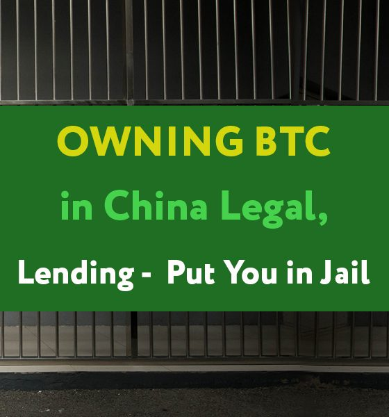 It is still legal to own Bitcoin in China despite the government blanket ban on trading.