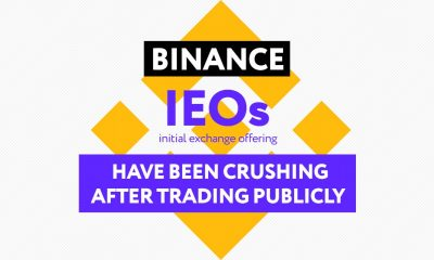 Binance IEOs and Dropping pic