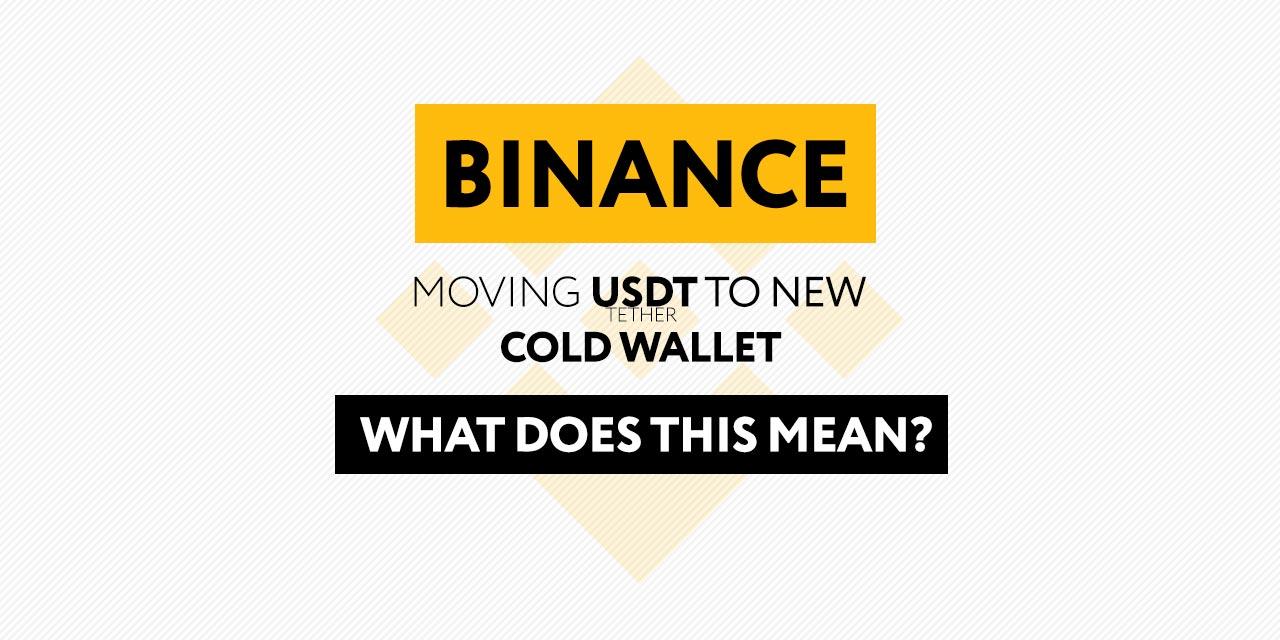 Binance Moves USDT pic