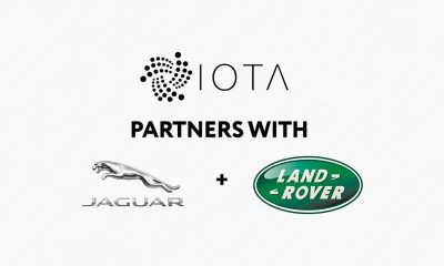 Jaguar Land Rover partners with IOTA to reward drivers for sharing information pic