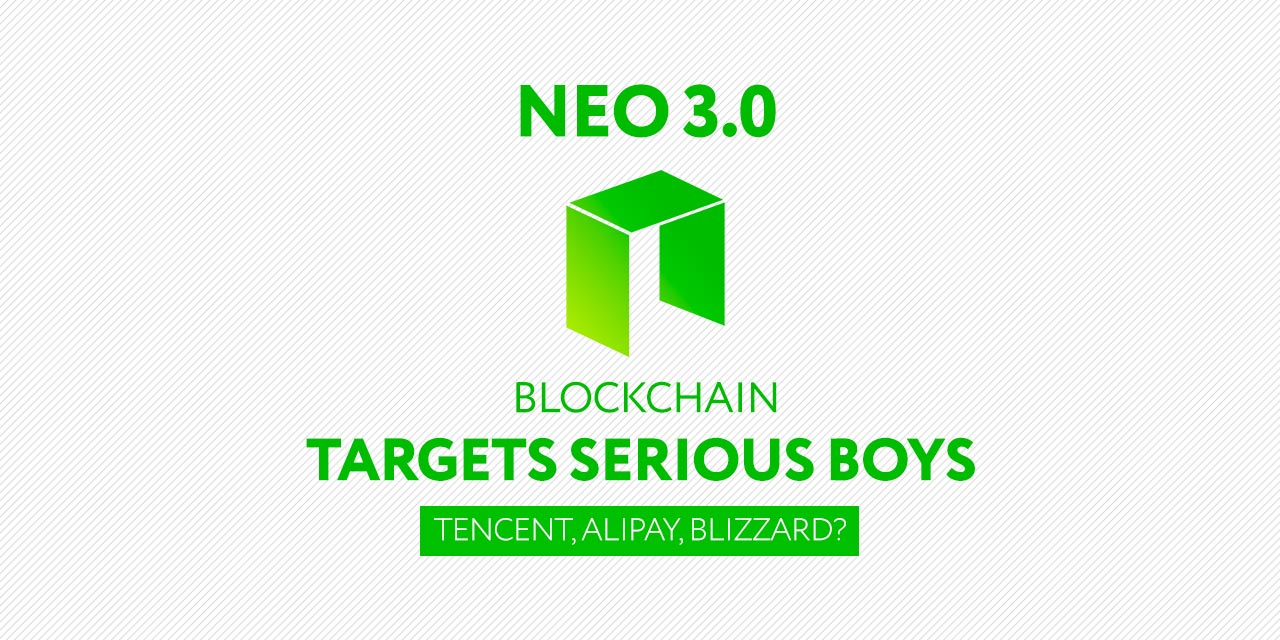 NEO's Next Generation Blockchain Targets Alipay Tencent and Blizzard pic