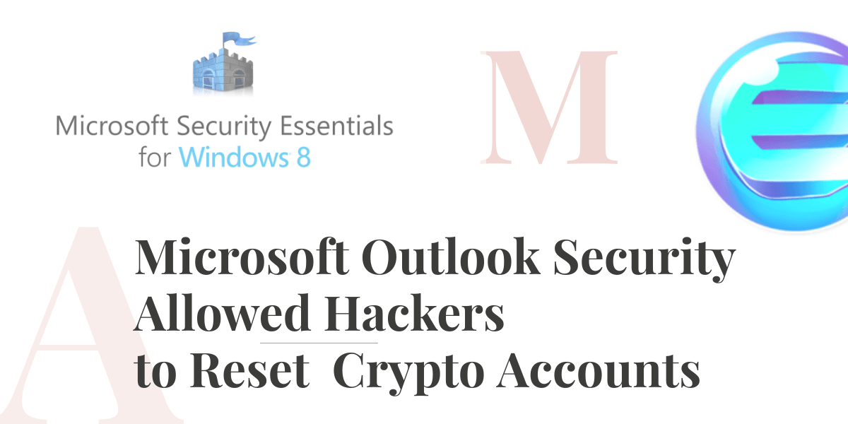 Windows allowed to Reset Crypto Accounts