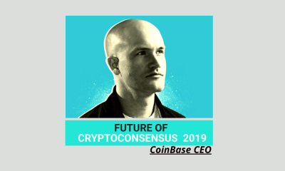 Coinbase CEO Brian Armstong Speaks on the Future of Crypto at Consensus 2019