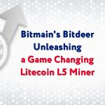 Bitmain's Bitdeer Unleashing A Game Changing Litecoin L5 Miner, Hash Rate Spikes