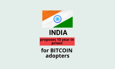 India's Insane Anti-Crypto Bill Proposes 10-Yr Prison for Bitcoin Adopters: Report