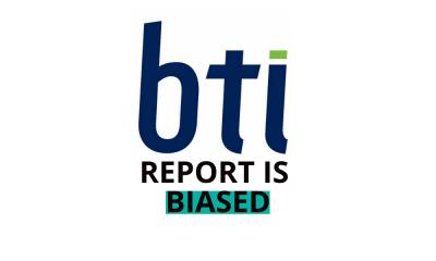 BTI Report is biased