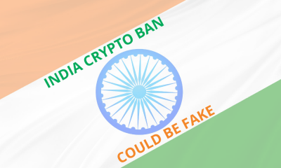 India's crypto ban could be fake news