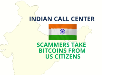 Indian call center Scammers take Bitcoins from US citizens