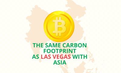 Bitcoin has the same carbon footprint