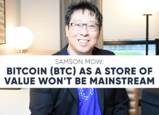 Samson Mow Bitcoin