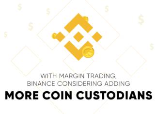 Binance coin custodians