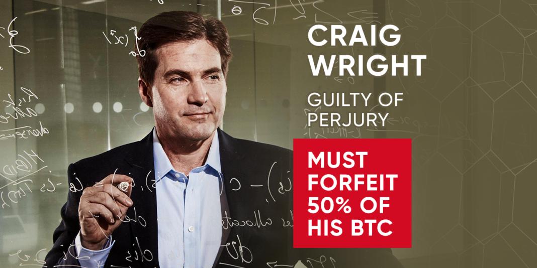 Craig Wirght perjury